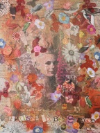 It used to be so nice Mixed media For sale at Shop in the square Size: 35cm x 46 cm