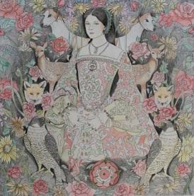 Anne Boleyn. Framed (Not shown) Pencil Drawing Price: £500.00