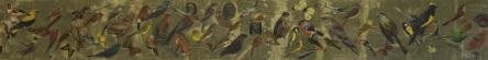 Camobirds (3) Mixed Media Size: 152 cm x 30 cm Price: £150.00