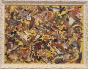 Camobirds (5) Mixed Media Size: 35 cm x 45 cm Price £75.00