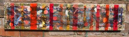 Camobirds (7) Mixed Media on canvas £70.00