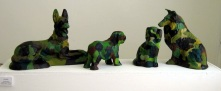 Camodogs Mixed Media NOT FOR SALE