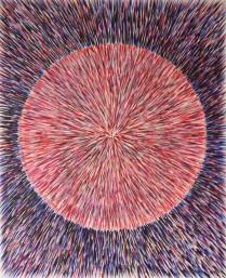 Event Horizon (II) Acrylic on canvas Price: £75.00