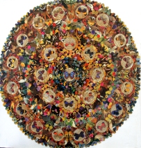 Kaleidoscope (2) Mixed Media 61 cm x 61 cm £275.00