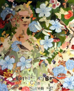 Nothing else can save me Mixed media Size: 45 cm x 34 cm For sale at Shop in the square