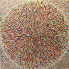 Star Burst Acrylic on canvas SOLD