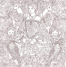 Anne Boleyn Colouring in