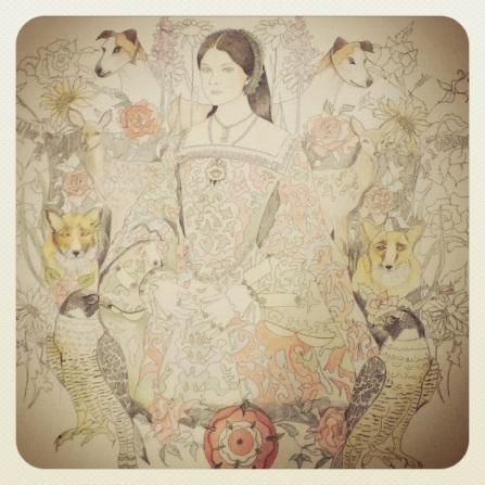 Anne Boleyn instagram