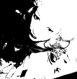 Marie Antoinette (Black and White)
