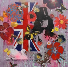 Like you were a bird (2) Mixed Media on canvas Price: £150.00