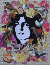 Like you were a bird Mixed Media on canvas Price: £45.00
