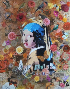 She walks in beauty Mixed Media £85.00
