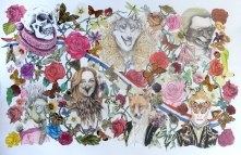 Never Ending Story. £900.00 Framed (Not shown) Pencil Drawing/Mixed Media Price: £900.00