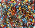 Camofly Mixed Media Price: 61 cm x 66 cm Price: £75.00