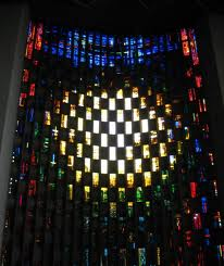 John Piper's magnificent window at Coventry Cathedral