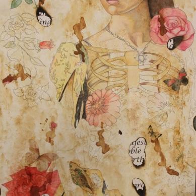 Anne Boleyn (Part Of Me) Pencil drawing Price: £350.00