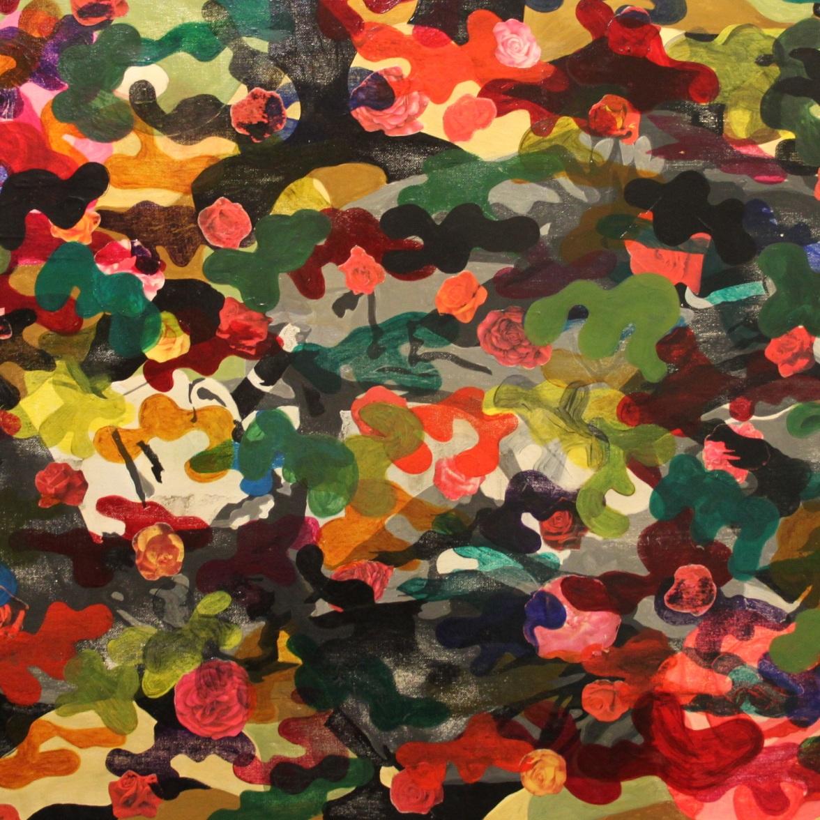 Progress on Che Guevara painting