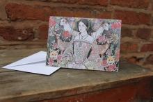 Anne Boleyn card Size 10.4 cm x 14.7 cm Price: £2.50