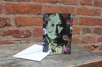Geronimo card Size 10.4 cm x 14.7 cm Price: £2.50