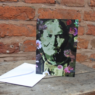 Geronimo card Size 10.4 cm x 14.7 cm Price: £2.50