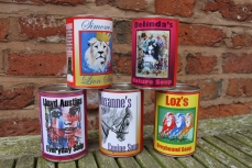 MD Gallery soup cans £50.00 per set