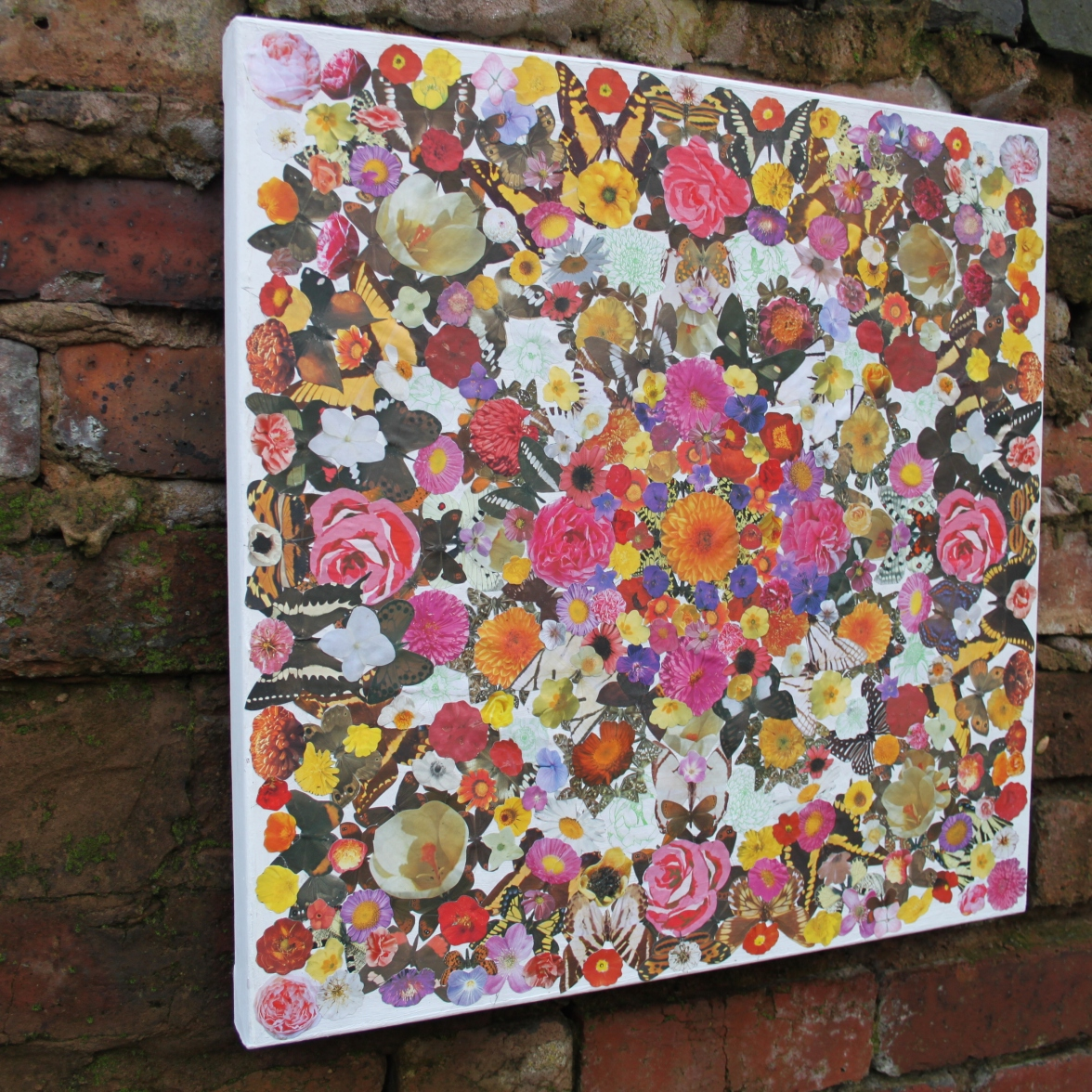 Kaleidoscope (6) Mixed Media on canvas 53 cm x 53 cm £75.00