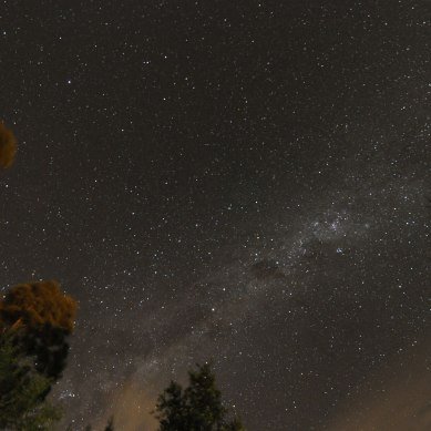 Milky Way: Dumfries and Galloway