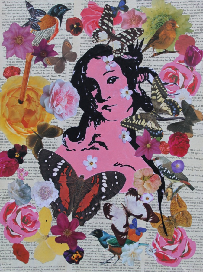 Birth Mixed Media on canvas £40.00