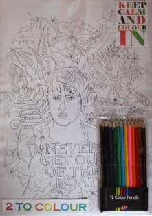 Colouring in Apocalpyse now pack of two £14.00