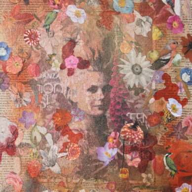 It used to be so nice Mixed Media on canvas £65.00
