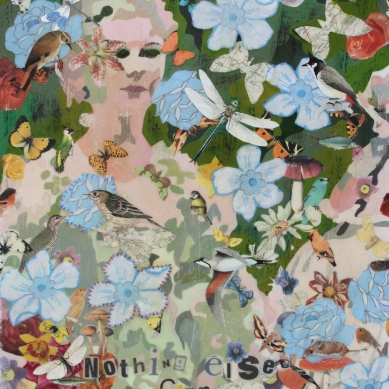 Nothing else can save me Mixed Media on canvas £150.00