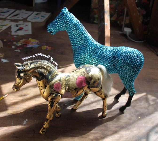 Work in progress Trinity (3 horses)