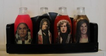 Slade Milk Bottles Mixed Media Not for sale