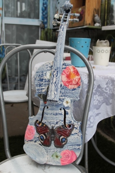 Violin Mixed Media SOLD