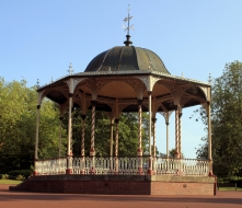 Bandstand at the West Park, Wolverhampton