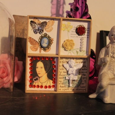 Anne Boleyn, keep sake box