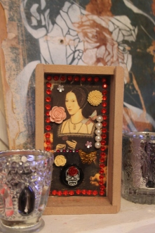 Anne Boleyn, Shadow Box SOLD
