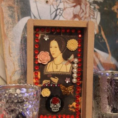 Anne Boleyn, Shadow Box SOLD
