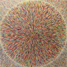 Starburst Oil on canvas SOLD