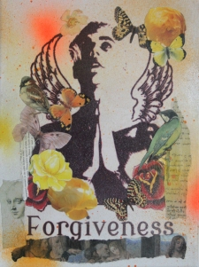 Forgiveness Mixed Media On Canvas Not for sale