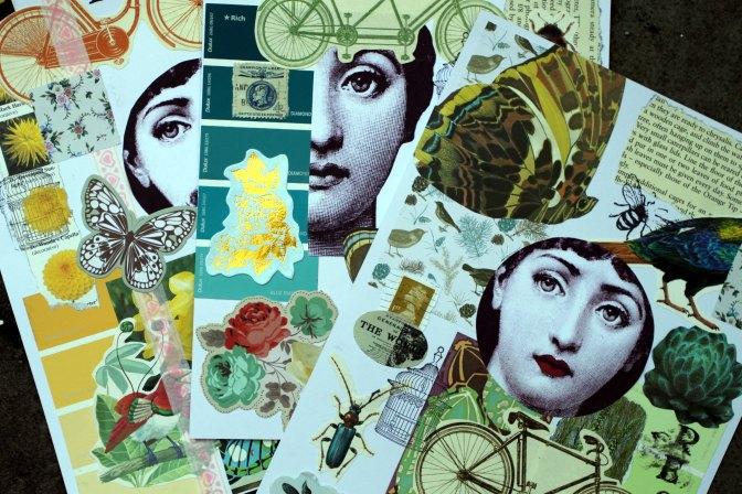 Pantone Collages