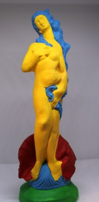 Marge - Cast Sculpture